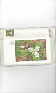 Canada Aerogrammes, Provincial Flowers, 6 Dif .15 in Original Package