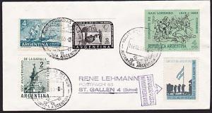 ARGENTINE ANTARCTIC cover 1965..............................................8219