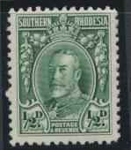 Southern Rhodesia SG 15  SC# 16 Perf 12 MH see scan and details