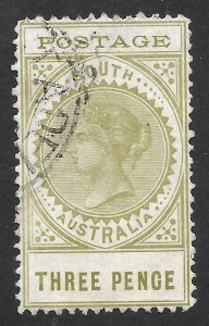 Doyle's_Stamps: South Australian Used Scott #121 1902 3-Pence Issue