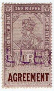 (I.B) India Revenue : Agreement 1R