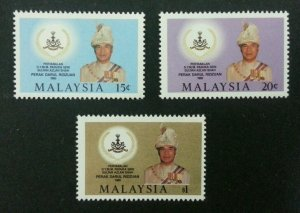 *FREE SHIP Coronation Sultan Perak Azlan Shah Malaysia 1985 Royal (stamp) MNH