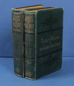 LITERATURE Album Weeds: How to Detect Forged Stamps by RB Eared. 2 Volume set.
