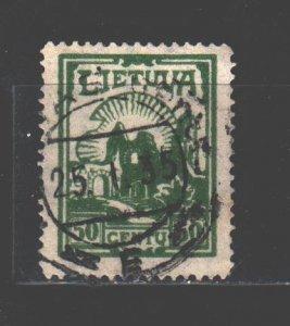 Lithuania. 1933. Standard. USED.