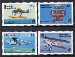 Grenada 555-558 MNH VF