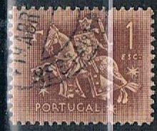 Portugal 766, 1e Equestrian Seal of King Diniz, used, VF