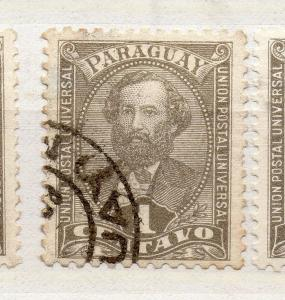 Paraguay 1892-96 Early Issue Fine Used 1c. 279939