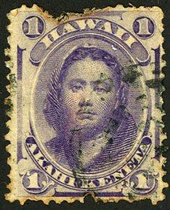 HAWAIIN ISLANDS #30b USED