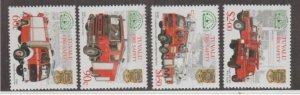 Tuvalu Scott #850-853 Stamps - Mint NH Set