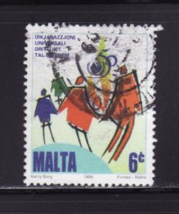 Malta 954 U Human Rights