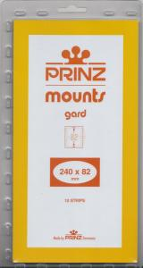 PRINZ CLEAR MOUNTS 240X82 (10) RETAIL PRICE $9.50