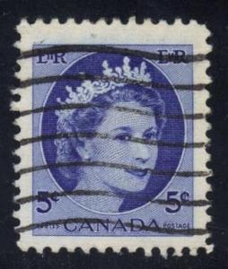 Canada #341 Queen Elizabeth II; Used at Wholesale