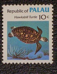 Palau Scott #12 mnh