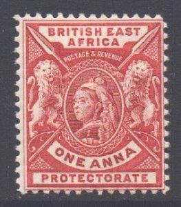 KUT East Africa Scott 73 - SG66a, 1896 Victoria 1a MH*