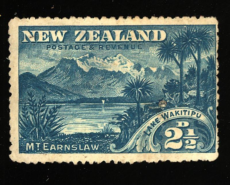 New Zealand #82 MINT Fine No gum thin Cat$300