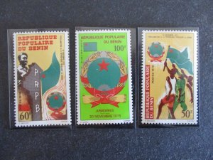 Benin #346-48 Mint Never Hinged - (8F1) WDWPhilatelic