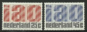 Netherlands 1969 Scott# 458-459 MNH