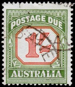 Australia Scott J94, perf. 14.5x14 (1958) Used F-VF, CV $7.00 M