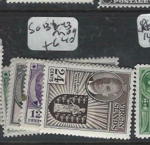 VIRGIN ISLANDS  (P0406B)  KGVI  SG 136-143  MOG