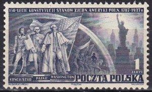 Poland #319 MNH  CV $5.00 (Z8387)