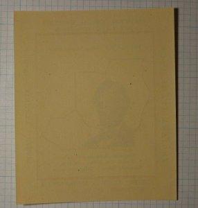 Tri State NFSC Convention Abraham Lincoln 1951 Philatelic Souvenir Ad Label