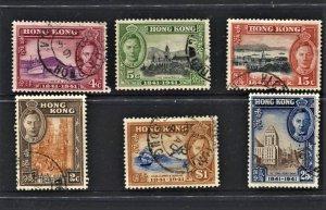 STAMP STATION PERTH Hong Kong #168-173 Centenary British Rule Set FU  CV$24.00