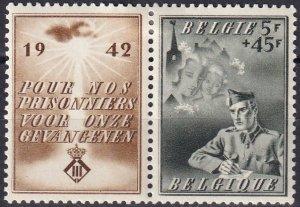 Belgium #B331  Unused CV $7.00  (Z1440)