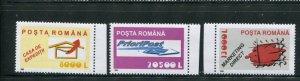 Romania #4543-5 MNH