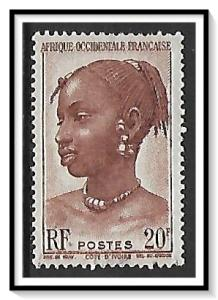 French West Africa #53 Agni Woman Used
