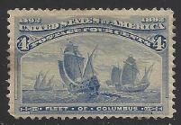 United States Scott # 233 MNH