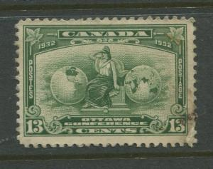 Canada - Scott 194 - General Issue - 1932 - FU - Single 13c Stamp