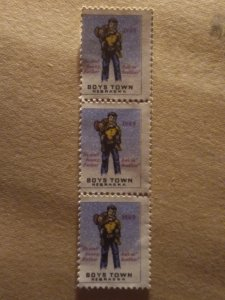US  Boys town set of 3 mint