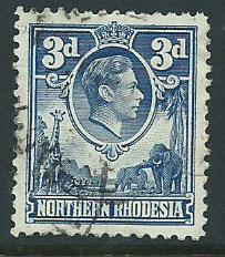 Northern Rhodesia  SG 34 Used