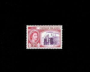 CAYMAN IS - 1954 - QE II - CAYMANIAN SEAMEN - # 139 - SCAN A - MINT MNH SINGLE!
