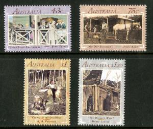 AUSTRALIA 1227-30 MNH SCV $6.75 BIN $3.40