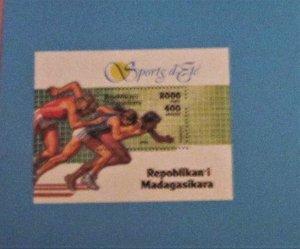 Malagasy Republic - 1271, MNH S/S. Sports. SCV - $3.25