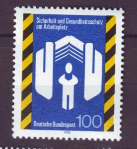 J12564 JLstamps 1993 germany set of 1 mnh #1773 safety