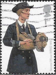 Great Britain 2688 Used - Royal Navy Uniforms - Second Officer WRNS, 1918