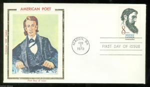 COLORANO UNITED STATES 1972 SIDNEY LANIER SCOTT#1446 UNADDRESSED FIRST DAY COVER