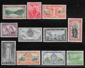 New Zealand 247-257: Signs of Victory and Peace, MH, F-VF