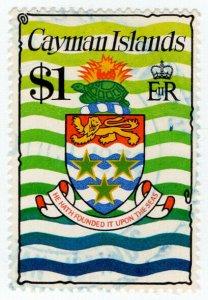 (I.B) Cayman Islands Revenue : Duty Stamp $1