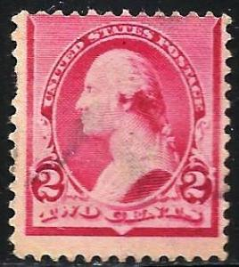 United States 1890-1893 Scott # 220 Used
