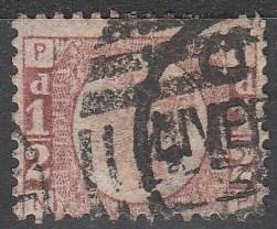 Great Britain #58 F-VF Used CV $22.00
