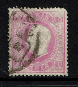 Portugal SC# 40, Used, Pulled Corner Perfs, Minor Crease - Lot 072517