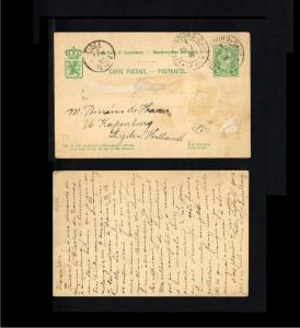 1896 - Luxemburg Postcard - To Lijden (Leiden) [B06_148]