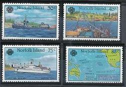 Norfolk Island 319-322 MNH (1983)