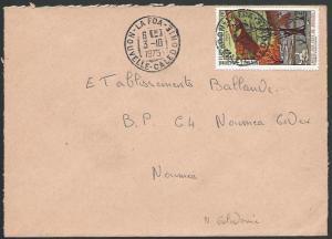 NEW CALEDONIA 1975 local cover LA FOA cds..................................10143