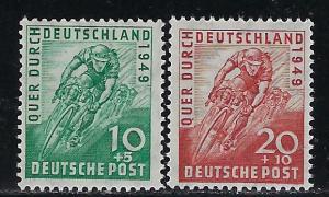 Germany AM Post Scott # B304 - B305, mint nh