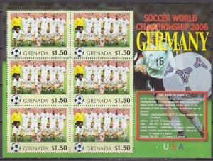 2006 Grenada 5724KL 2006 FIFA World Cup Germany( USA ) 9,00 €