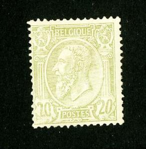 Belgium Stamps # 56 Fresh OG VLH Scott Value $200.00